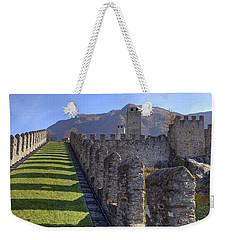 Bellinzona - Castelgrande Weekender Tote Bag by Joana Kruse