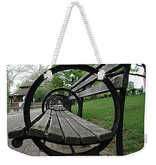 Bench Weekender Tote Bag by Anna Ruzsan