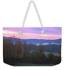Berkshires Sunrise Weekender Tote Bag