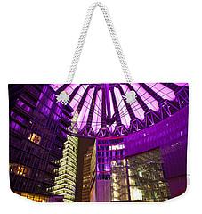 Berlin Sony Center Weekender Tote Bag by Mike Reid