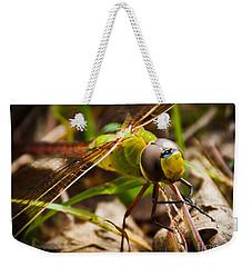 Big Brown Eyes Weekender Tote Bag by Cheryl Baxter