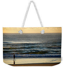 Weekender Tote Bag featuring the photograph Big Ocean  by Eric Tressler