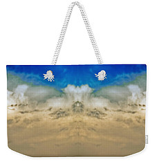 Big Ol Clouds Panorama Weekender Tote Bag
