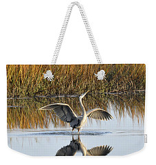 Bird Dance Weekender Tote Bag by Kay Lovingood