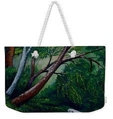 Bird In The Swamp Weekender Tote Bag