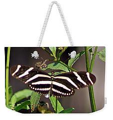 Black Butterfly Weekender Tote Bag by Joe Faherty
