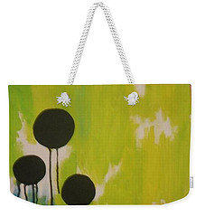 Black Circles Weekender Tote Bag