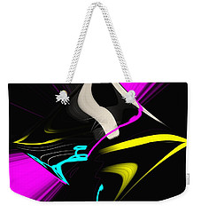 Weekender Tote Bag featuring the photograph Black Diamond by George Pedro