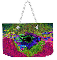 Black Hole Sun Weekender Tote Bag