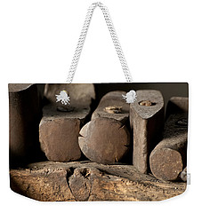 Blacksmith  Hammers Weekender Tote Bag by Wilma  Birdwell