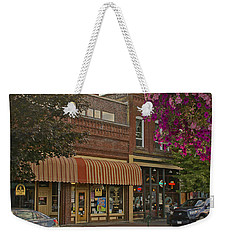 Blind Georges And Laughing Clam On G Street In Grants Pass Weekender Tote Bag