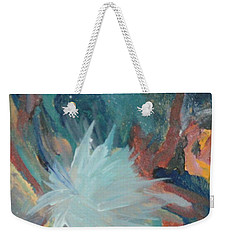 Blooming Star Weekender Tote Bag