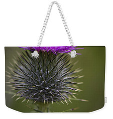 Blooming Thistle Weekender Tote Bag