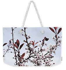 Blossoms In Time Weekender Tote Bag