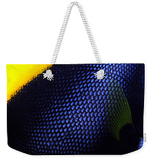 Blue And Yellow Scales Weekender Tote Bag