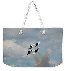 Blue Angels Roaring By Weekender Tote Bag
