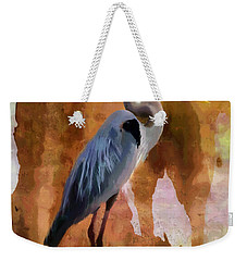 Blue Weekender Tote Bag by Betty LaRue