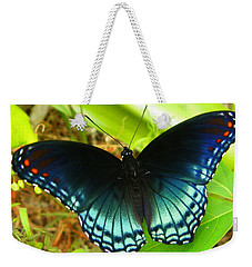 Blue Butterfly I Weekender Tote Bag