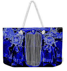 Blue Coupe Weekender Tote Bag by J R Seymour