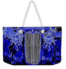 Blue Coupe Weekender Tote Bag