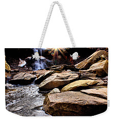 Blue Hen Falls Weekender Tote Bag by Michelle Joseph-Long