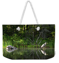 Blue Heron Long Pond Wmnf Weekender Tote Bag