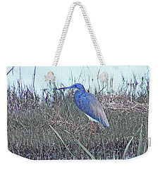 Blue Heron Sabine Nwr La Weekender Tote Bag by Lizi Beard-Ward