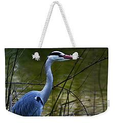 Blue Heron Vondelpark Amsterdam Weekender Tote Bag