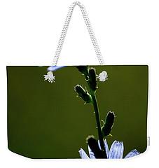 Blue Wildflower Weekender Tote Bag