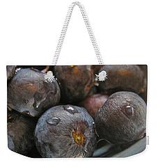 Blueberries  Weekender Tote Bag by Bill Owen
