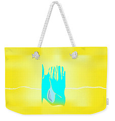 Weekender Tote Bag featuring the digital art Bluegrass by Kevin McLaughlin