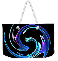 Dancing Blues Weekender Tote Bag by Maciek Froncisz