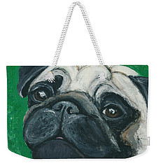 Bo The Pug Weekender Tote Bag