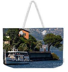 Boat And Tree Weekender Tote Bag