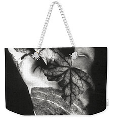 Body Projection Woman - Duplex Weekender Tote Bag