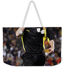 Bojan Krkic Celebrating A Goal 2 Weekender Tote Bag