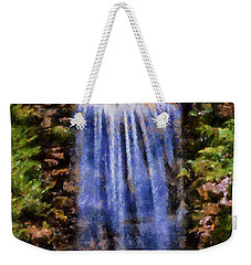 Botanical Garden Falls Weekender Tote Bag by Lynne Jenkins