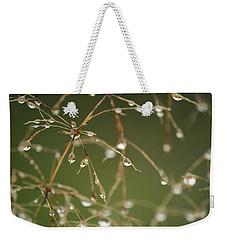 Branches Of Dew Weekender Tote Bag