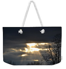 Break In The Clouds Weekender Tote Bag by Bonnie Myszka