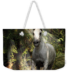 Breaking Dawn Gallop Weekender Tote Bag by Wes and Dotty Weber