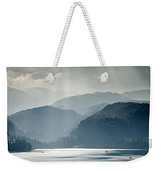Breaking Through The Mist Weekender Tote Bag