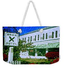 Brick Hotel Weekender Tote Bag