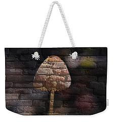 Brick Mushroom Weekender Tote Bag by Eric Liller