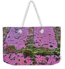 Brick Wall Weekender Tote Bag by Bill Owen