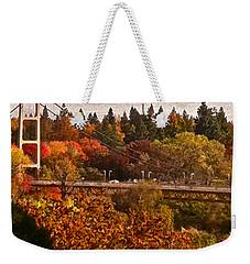 Bridge Weekender Tote Bag by Bill Owen