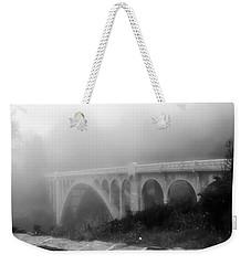 Bridge In Fog Weekender Tote Bag