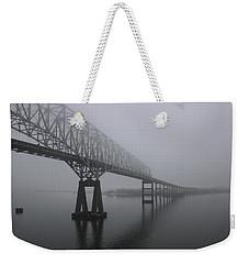Bridge To Nowhere Weekender Tote Bag by Shelley Neff