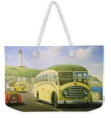 Bristol L On Plymouth Hoe Weekender Tote Bag