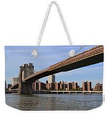 Brooklyn Bridge1 Weekender Tote Bag