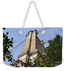 Weekender Tote Bag featuring the photograph Brooklyn Bridge2 by Zawhaus Photography